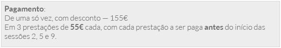 Os preços são apenas indicativos, e reportam-se à ultima actualização desta página. Deverão por isso ser confirmados na recepção do IF pretendido.